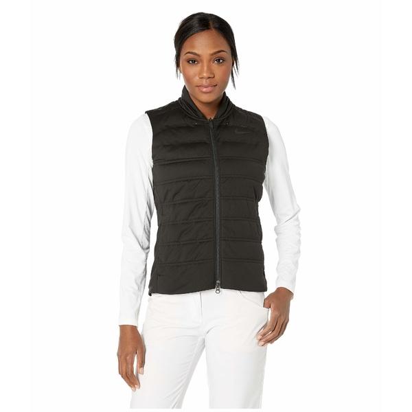 ナイキ レディース コート アウター Aeroloft Vest Black/Black/Black