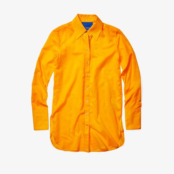 サイモンミラー レディース シャツ トップス Rowena Light Button-Down Sunset Orange