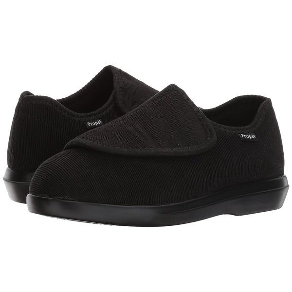 プロペット レディース サンダル シューズ Cush 'n Foot Medicare/HCPCS Code = A5500 Diabetic Shoe Black Corduroy