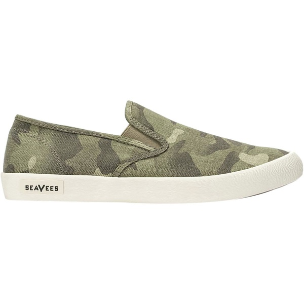 シービーズ メンズ スニーカー シューズ Baja Slip On Saltwash Shoe - Men's Sage Camouflage