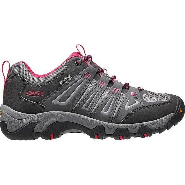 キーン レディース スニーカー シューズ Oakridge Waterproof Hiking Shoe - Women's Magnet/Rose