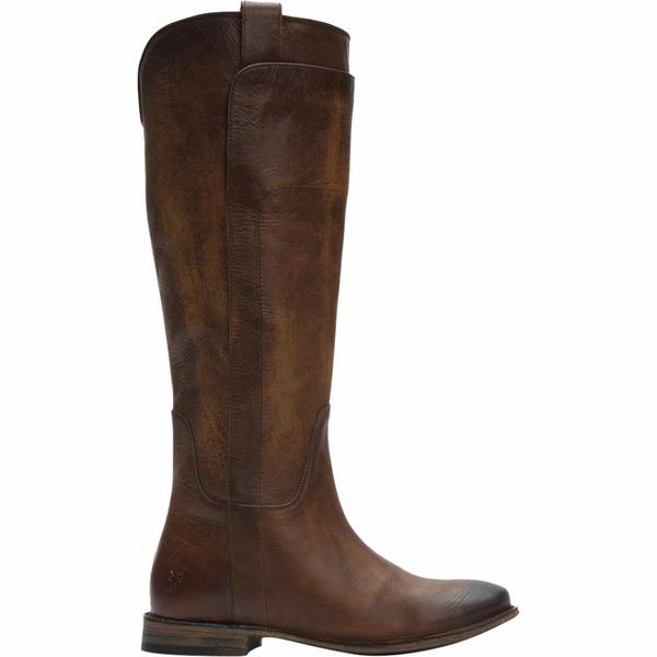 フライ レディース ブーツ&レインブーツ シューズ Paige Tall Riding Boot - Women's Dark Brown