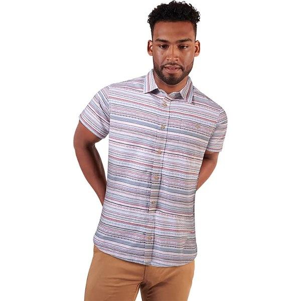 マウンテンカーキス メンズ シャツ トップス Horizon Short-Sleeve Shirt - Men's Dove