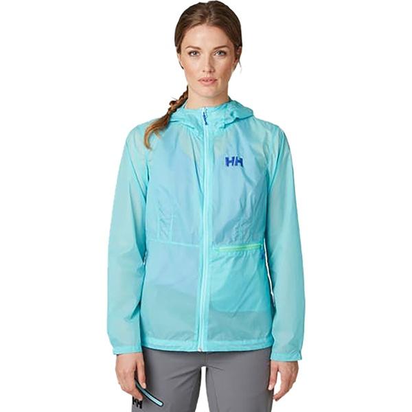 ヘリーハンセン レディース ジャケット&ブルゾン アウター Vana Windbreaker Jacket - Women's Glacier Blue