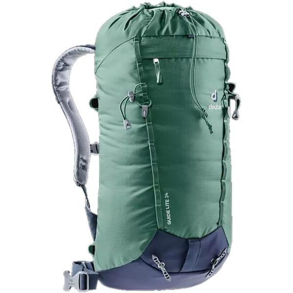 2018セール ドイター メンズ バックパック・リュックサック バッグ Guide Lite 24 Backpack Seagreen/Navy, 保一堂スポーツ d104ed44