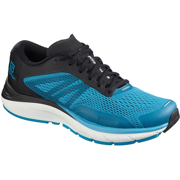 サロモン メンズ スニーカー シューズ Sonic RA Max 2 Running Shoe - Men's Hawaiian Surf/Black/White