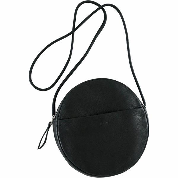 バッグー レディース ハンドバッグ バッグ Soft Circle Purse Black