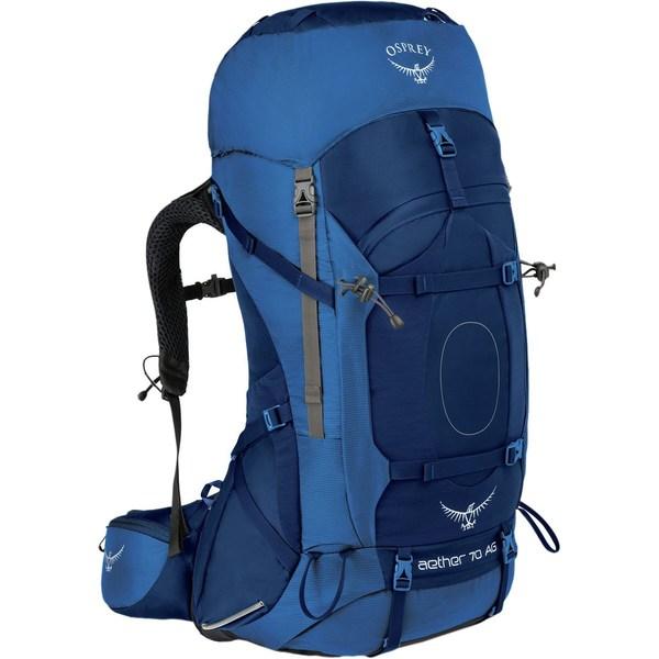 オスプレーパック レディース バックパック・リュックサック バッグ Aether AG 70L Backpack Neptune Blue
