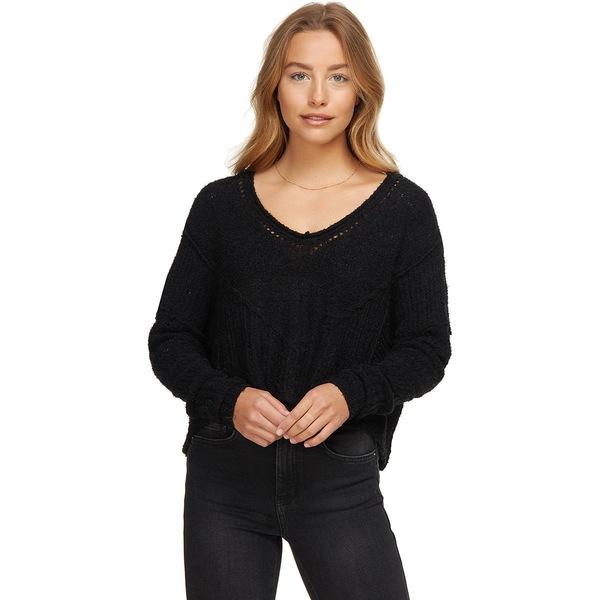 フリーピープル レディース ニット&セーター アウター Seashell Sweater - Women's Black
