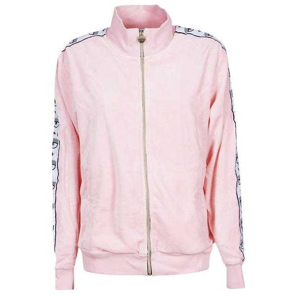 シアラフェラーニ レディース ジャケット&ブルゾン アウター Chiara Ferragni Side Striped Jacket Pink