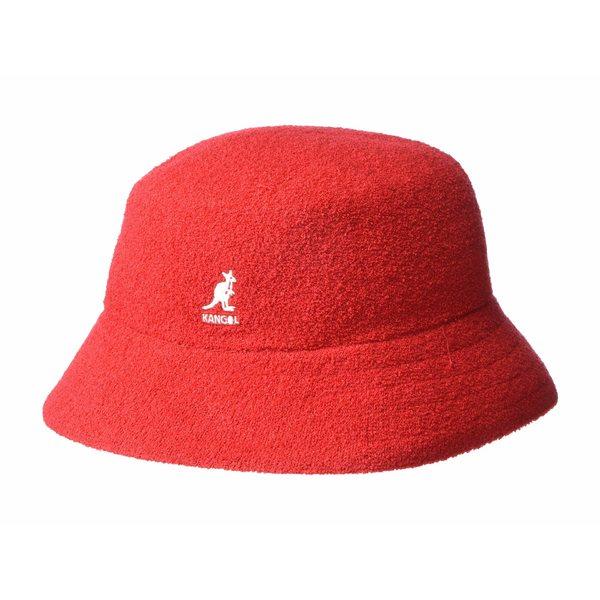 カンゴール メンズ 帽子 アクセサリー Bermuda Bucket Scarlet