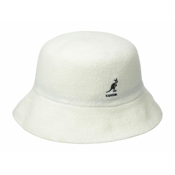 カンゴール メンズ 帽子 アクセサリー Bermuda Bucket White
