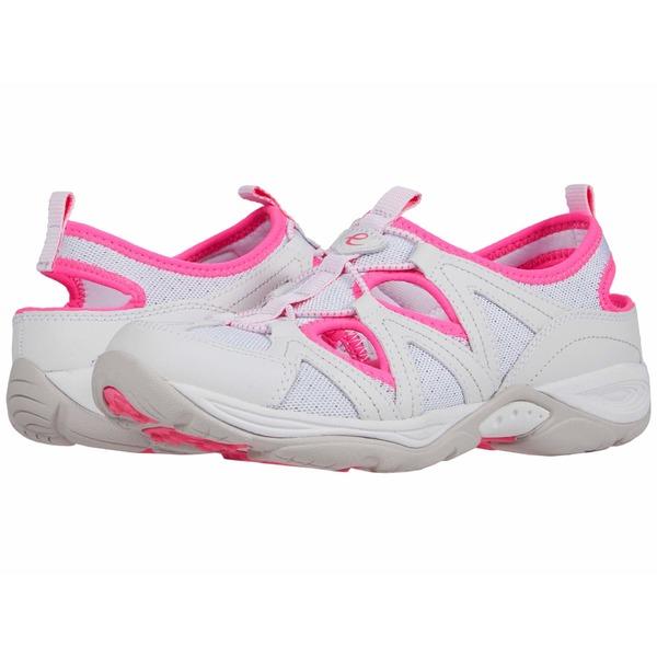 イージースピリット レディース スニーカー シューズ Earthen 8 White/Pink