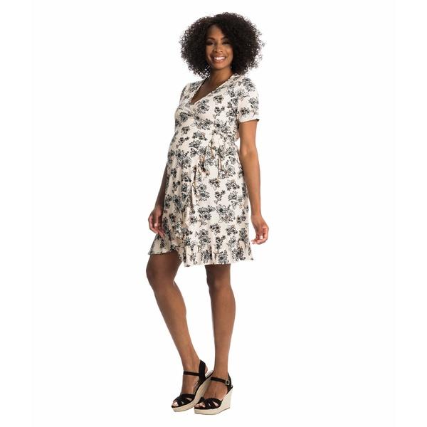 エベリーグレイ おすすめ特集 レディース トップス 贈与 ワンピース Pink Floral Nursing Araceli Maternity 全商品無料サイズ交換 Dress