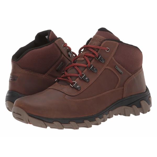ロックポート メンズ ブーツ&レインブーツ シューズ Cold Springs Plus Chukka Bison Leather