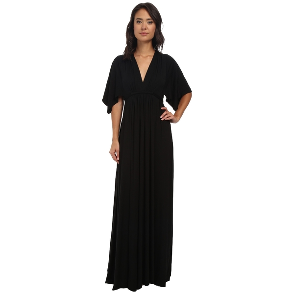 レイチェルパリー レディース ワンピース トップス Long Caftan Dress Black