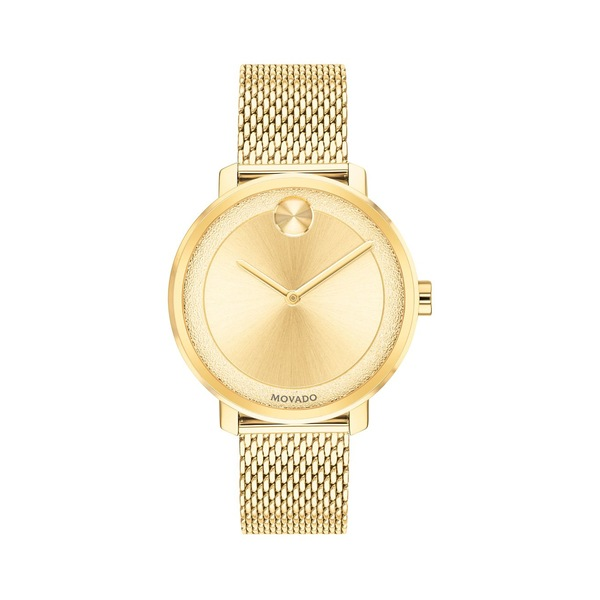 モバド メンズ 腕時計 アクセサリー BOLD Ionic-Goldplated Stainless Steel Bracelet Watch Gold