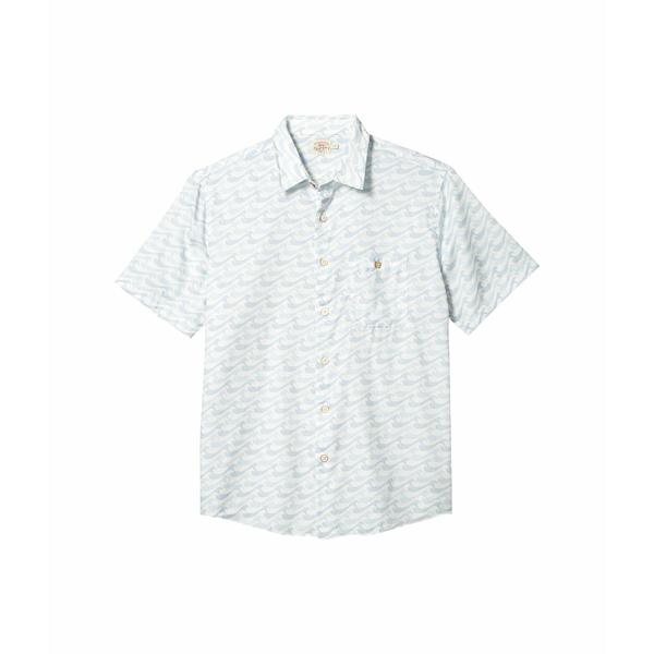 ファエティ メンズ シャツ トップス Short Sleeve Playa Shirt Ivory Endless Peaks