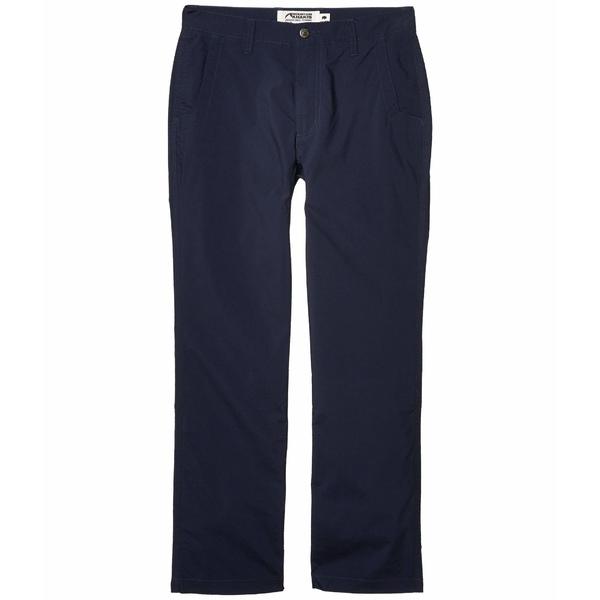 マウンテンカーキス メンズ カジュアルパンツ ボトムス Stretch Poplin Pants Slim Fit Navy