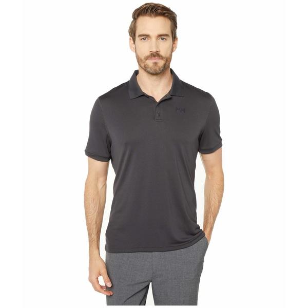 ヘリーハンセン メンズ シャツ トップス Lifa Active Solen Short Sleeve Polo Ebony