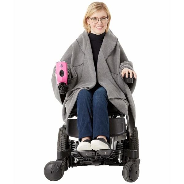 ジャンスカ レディース コート アウター Blanket Wrap Gray Heather