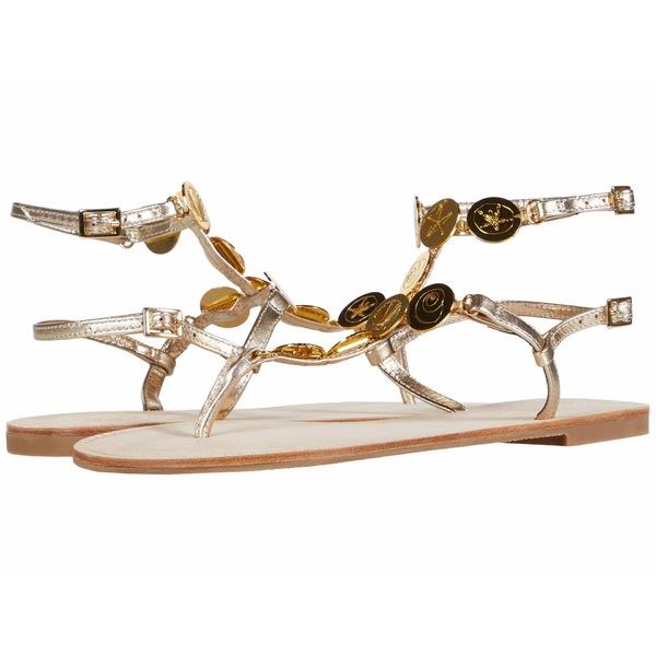 リリーピュリッツァー レディース サンダル シューズ Palermo Sandal Gold Metallic