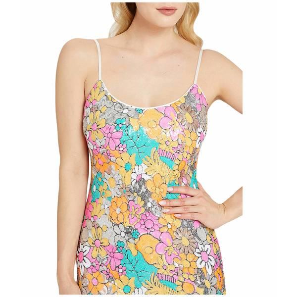 ミリー レディース ワンピース トップス Floral Sequins Annie Dress White Multi