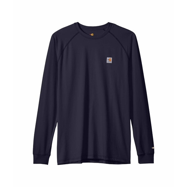 カーハート メンズ シャツ トップス Big & Tall Flame-Resistant Force Long Sleeve T-Shirt Dark Navy