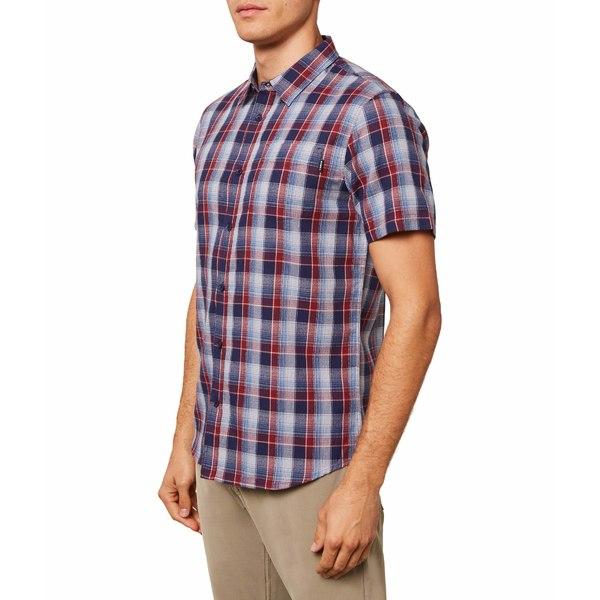 オニール メンズ シャツ トップス Eastwood Short Sleeve Shirt Navy