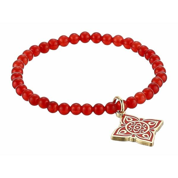 アレックスアンドアニ レディース ブレスレット・バングル・アンクレット アクセサリー Chakra Stretch Bracelet Gold/Root Chakra