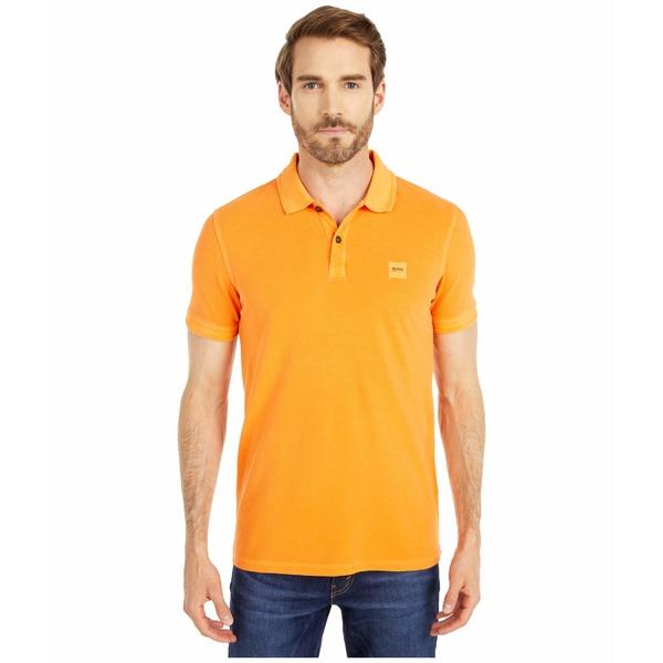 ヒューゴボス メンズ シャツ トップス Prime Polo Bright Orange