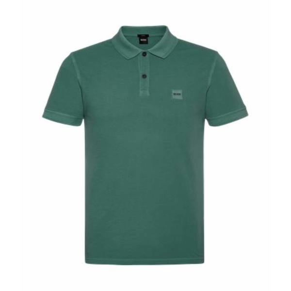 ヒューゴボス メンズ シャツ トップス Prime Polo Medium Green