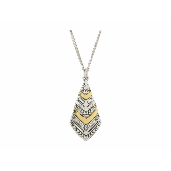 ブライトン レディース ネックレス・チョーカー・ペンダントトップ アクセサリー Tapestry Kite Short Necklace Silver/Gold