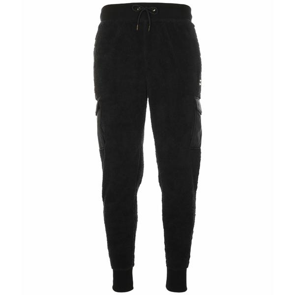 チャンピオン メンズ カジュアルパンツ ボトムス Faux Fur Pants w/ Super Fleece & Woven Black