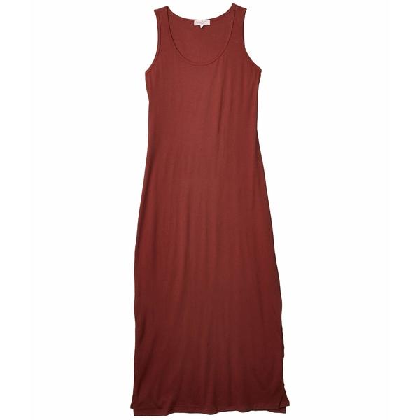 マイケルスターズ レディース ワンピース トップス Cotton Modal Isabelle Sleeveless Neck Maxi Dress Sienna