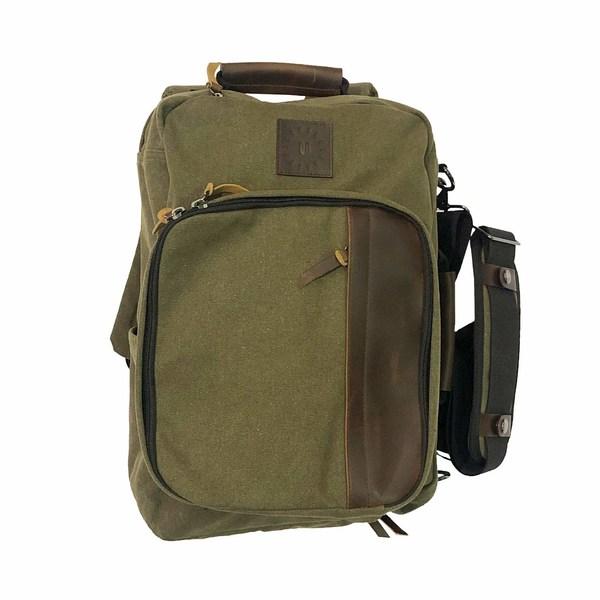 リンクソウル メンズ ショルダーバッグ バッグ Hybrid Messenger Bag Army