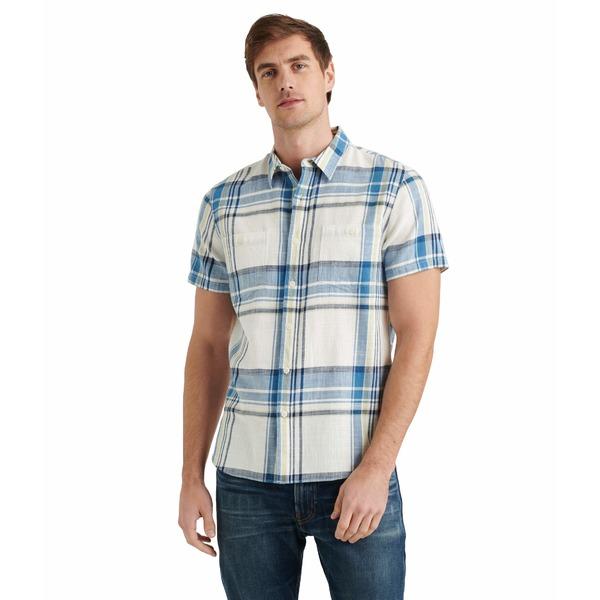 ラッキーブランド メンズ シャツ トップス Jaybird Workwear Shirt Blue Plaid