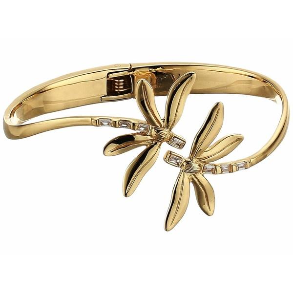 ヴィンスカムート レディース ブレスレット・バングル・アンクレット アクセサリー Organic Spring Hinge Dragonfly Bracelet Gold/Crystal