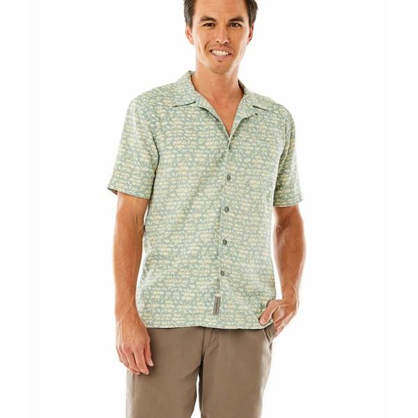 ロイヤルロビンズ メンズ シャツ トップス Comino Short Sleeve Shirt Arctic Blue