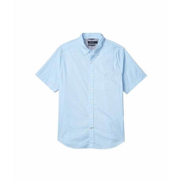 ナウティカ メンズ シャツ トップス Woven Navtech Solid Blue