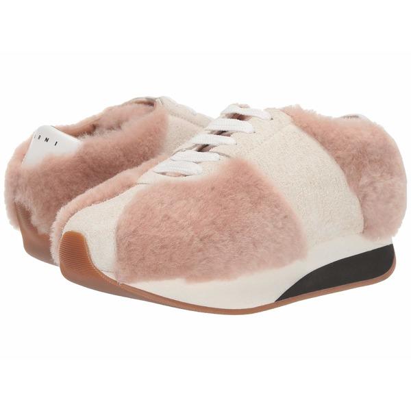 マルニ レディース スニーカー シューズ Big Foot Sneaker Swan/Ivory