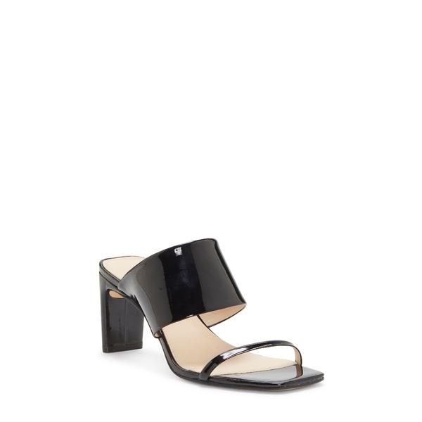 ルイスエシー レディース サンダル シューズ Lula Slide Sandal Black Patent Leather