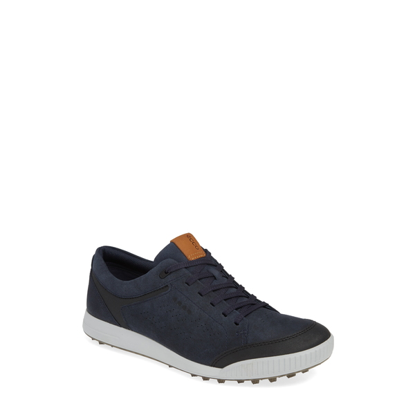 エコー メンズ スニーカー シューズ Street Retro LX Golf Shoe Marine Leather