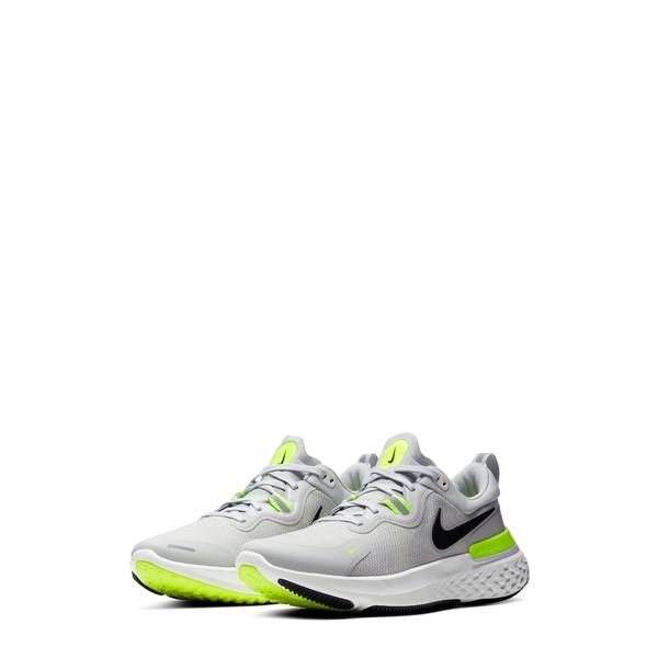 ナイキ メンズ スニーカー シューズ React Miller Running Shoe Grey Fog/ Black/ Grey/ Volt
