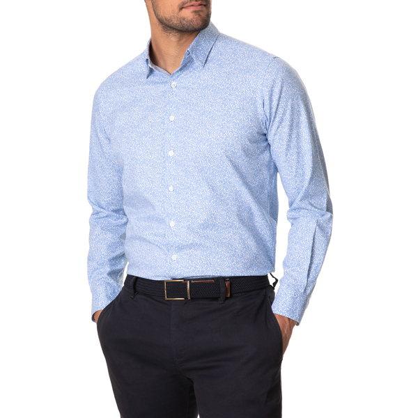 ロッドアンドグン メンズ シャツ トップス Zingonia Button-Up Shirt Cornflower