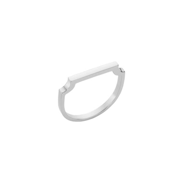モニカヴィナダー レディース リング アクセサリー Signature Thin Ring Silver