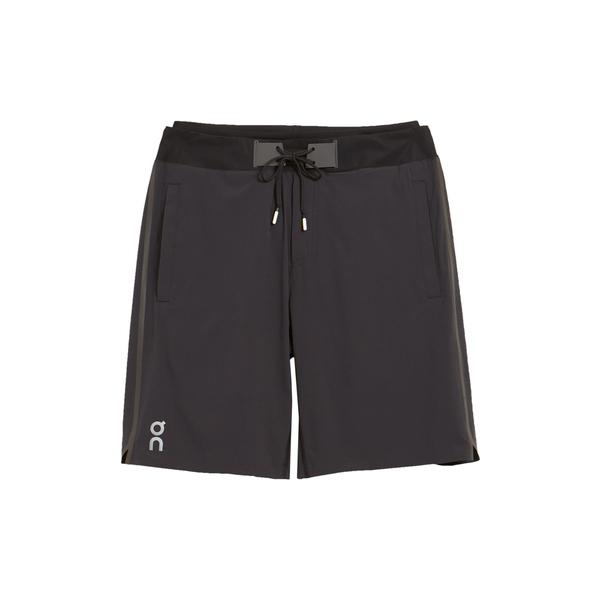 オン メンズ カジュアルパンツ ボトムス Running Hybrid Double Layer Shorts Black