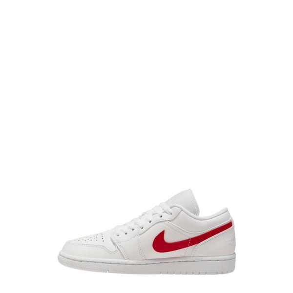ジョーダン レディース スニーカー シューズ Nike Air Jordan 1 Low Sneaker White/ University Red/ White