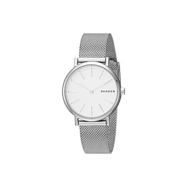 スカーゲン レディース 腕時計 アクセサリー Signatur Slim Two-Hand Watch SKW2692 Silver Stainless Steel Mesh