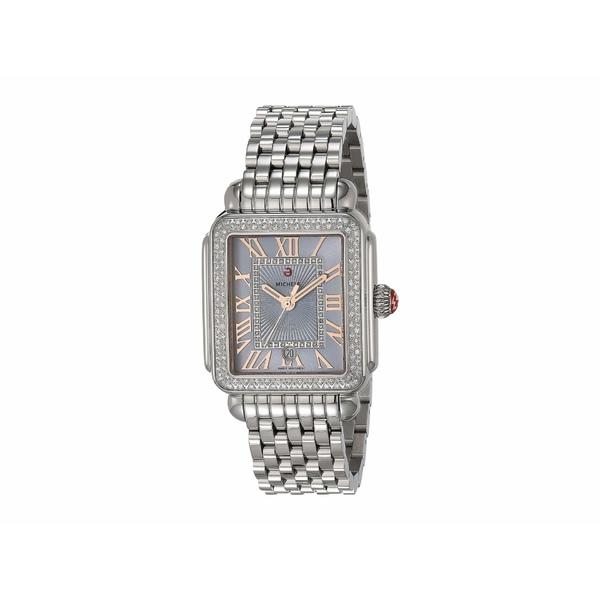 ミッシェル レディース 腕時計 アクセサリー Deco Madison - Blue Sunray Dial Silver